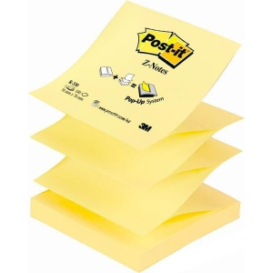 Notes samoprzylepny 76x76 mm POST-IT harmonijka żółty /3M-70005288421/