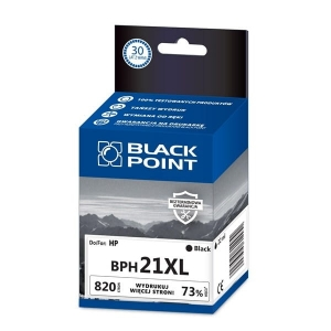 Tusz 21Xl zamienny do HP C9351CE marki Black Point, black /BPH21XL/
