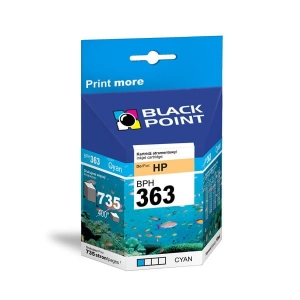 Tusz 363C zamienny do HP C8771EE marki Black Point, cyan